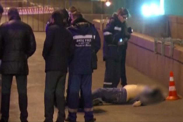 Telewizja moskiewska pokazała moment zabójstwa Niemcowa