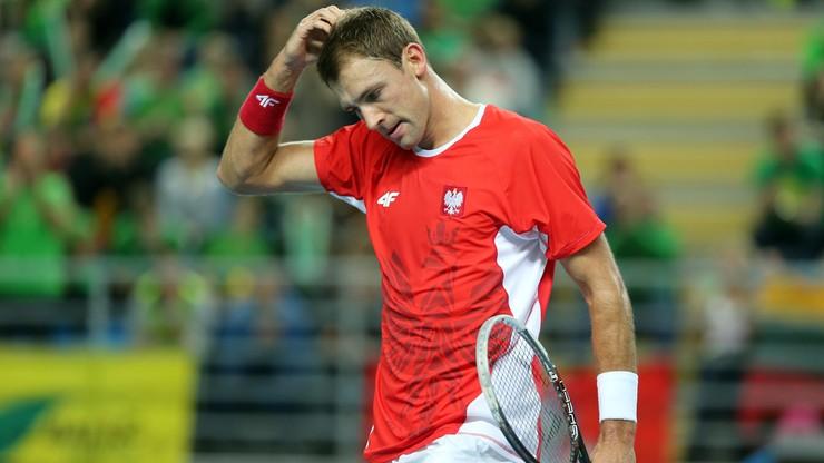 ATP w Pekinie: Kubot odpadł w I rundzie debla