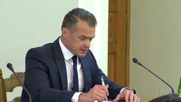 """2017-05-23 Wassermann nie chciała, by Nowak czytał z kartki. """"Korzystam ze swojego konstytucyjnego prawa"""""""