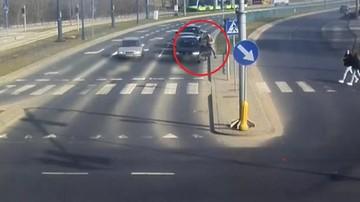 2017-03-28 Pijany kierowca na skrzyżowaniu. Kluczyki zabrał mu policjant po służbie