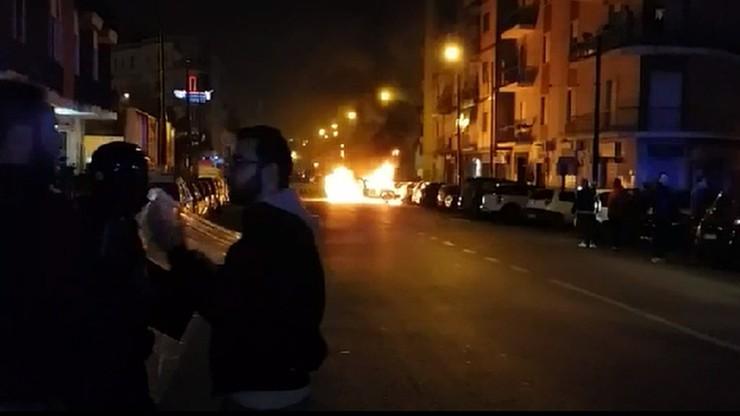 LE: Starcia kibiców przed meczem Napoli - Legia