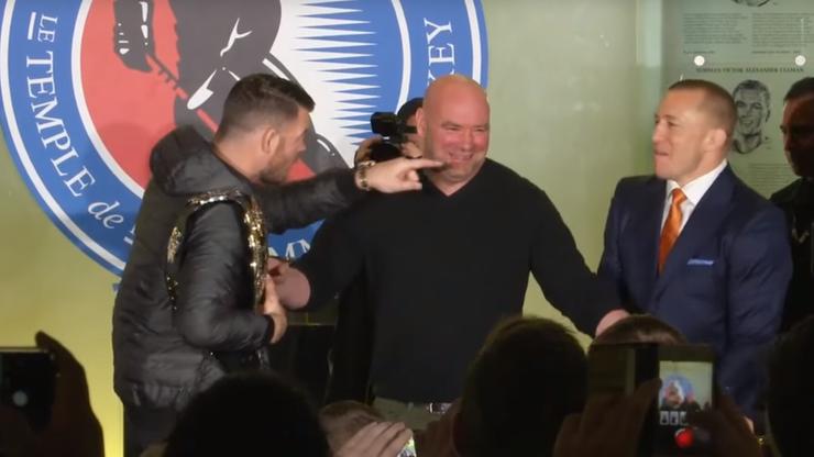 Mistrz UFC pozwany za... duszenie człowieka!