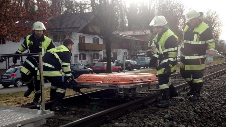 Zderzenie pociągów w Niemczech