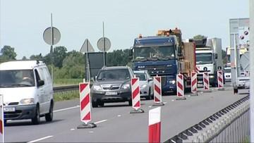 23-08-2016 18:07 Utrudnienia na A4. Autostrada w remoncie