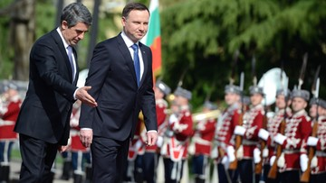 18-04-2016 12:00 Prezydent Bułgarii: Polska liderem w regionie