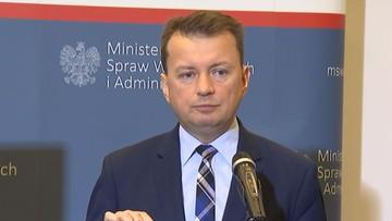 """28-06-2017 14:08 Błaszczak o zajściach w Radomiu: totalna opozycja nawołuje do """"nienawiści"""""""