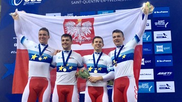 2016-11-06 PŚ w kolarstwie torowym: Staniszewski drugi, drużyna sprinterów trzecia
