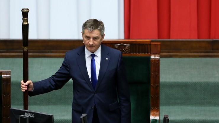 Kuchciński nadal marszałkiem. Sejm odrzucił wniosek o odwołanie go z funkcji