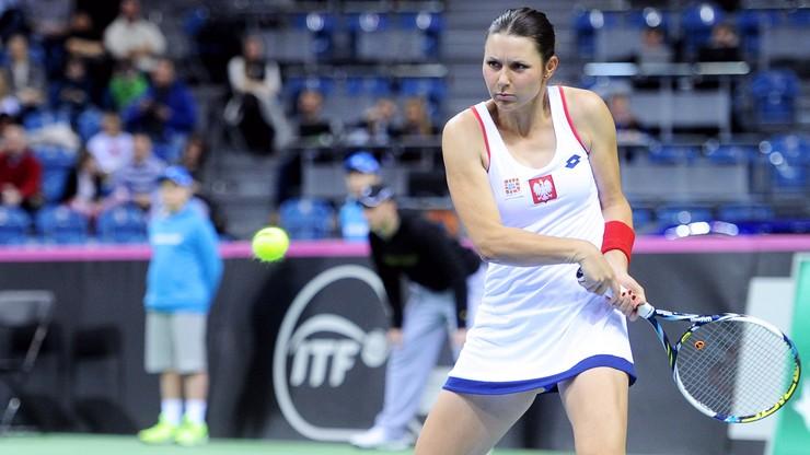 Wimbledon: Jans-Ignacik odpadła w I rundzie debla
