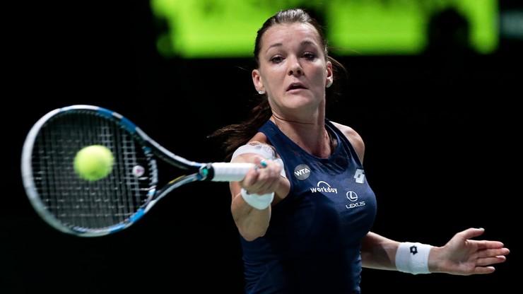 Agnieszka Radwańska przegrała z Flavią Pennettą w turnieju WTA Finals
