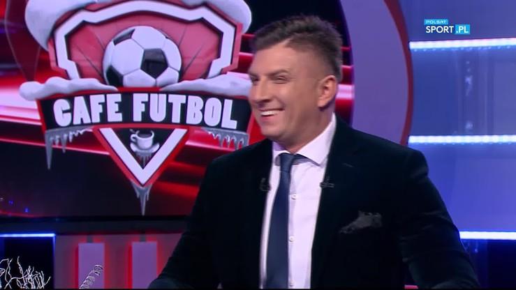 Hajto w sztabie Nawałki, Daniec na niemieckiej żylecie i hymn Górniak, czyli najlepsze momenty sylwestrowego Cafe Futbol