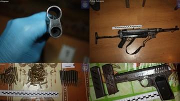 12-02-2016 18:55 Rusznikarz ukrywał swój arsenał w ulach
