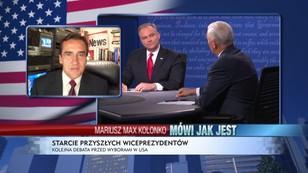 Prowadząca nie panowała nad debatą - Mariusz Max Kolonko podsumowuje debatę wiceprezydencką