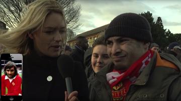 2015-11-24 Kibic Manchesteru United nie poznał George'a Besta! (WIDEO)