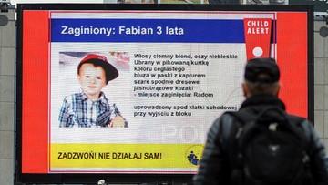 26-11-2015 13:06 Zarzuty ws. porwania 3-letniego Fabiana. Policja nadal szuka chłopca