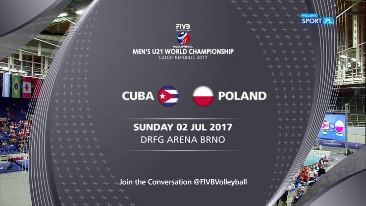Polska - Kuba 3:0. Skrót meczu