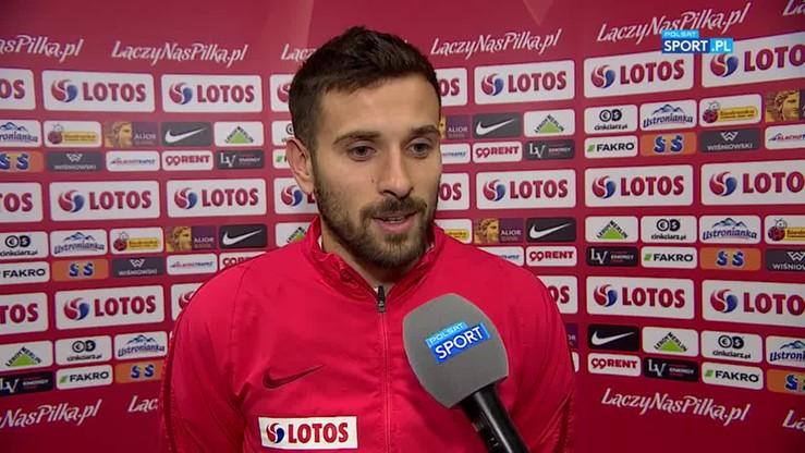 Makuszewski: Wielu dopisało nam trzy punkty jeszcze przed meczem z Czarnogórą