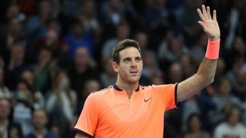 2016-10-22 ATP Sztokholm: Del Potro ma szansę na pierwszy tytuł od 34 miesięcy
