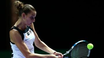 2016-10-24 WTA Finals: Pliskova pokonała Muguruzę w trzech setach