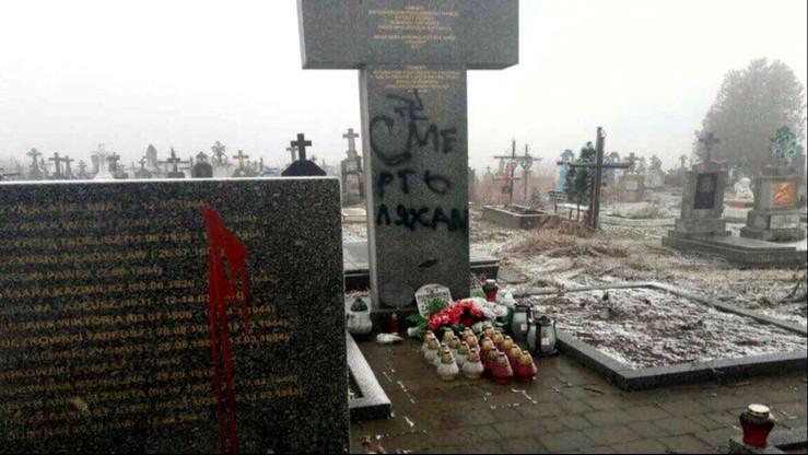 Oczyszczono polskie pomniki na Ukrainie. Wszczęto śledztwo
