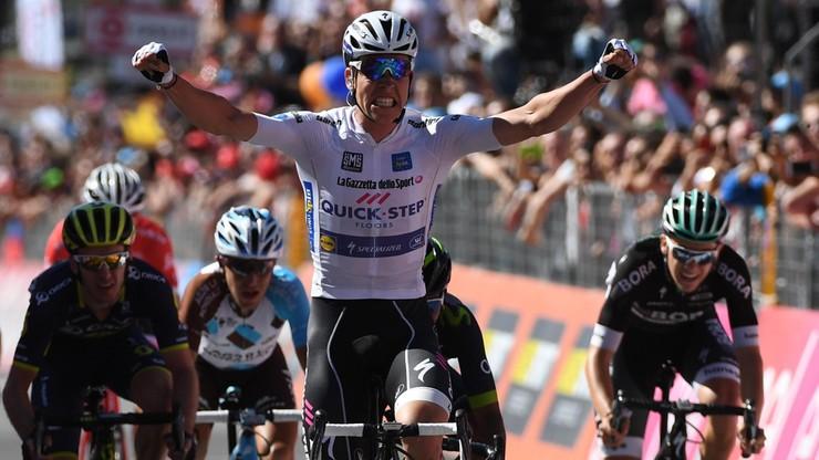 Giro d'Italia: Jungels wygrał 15. etap, Dumoulin utrzymał prowadzenie