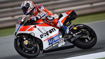 2017-03-11 DesmoDovi najszybszy I dnia testów MotoGP w Katarze!