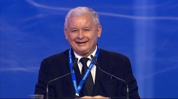 Kaczyński: To dosyć szczególna sytuacja, jak chcecie wstawać, by mi bić brawo, że nie jestem premierem