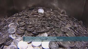 Moody's podwyższyła prognozę PKB Polski na 2018 r. i obniżyła szacunek deficytu sektora finansów publicznych