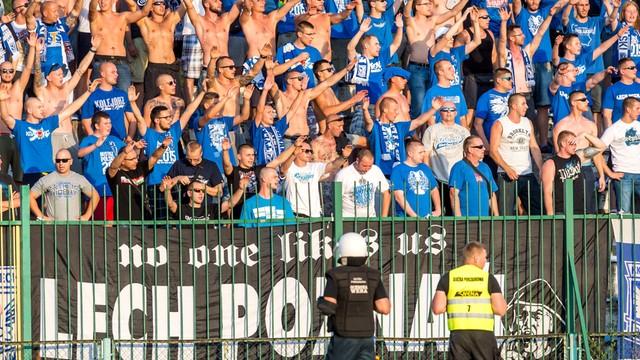 UEFA: kara dla Lecha zawieszona, z Videotonem z kibicami