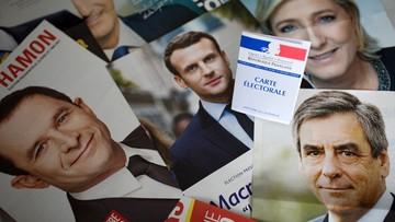 23-04-2017 07:10 Francja wybiera prezydenta. Wynik najbardziej nieprzewidywalny od dziesięcioleci