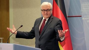 """18-06-2016 18:41 Steinmeier przestrzega przed polityką """"wymachiwania szabelką"""" wobec Rosji"""