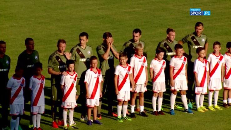 Zrinjski - Legia Warszawa 1:1. Skrót meczu