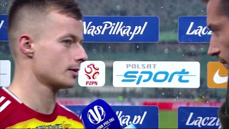Kosakiewicz: Legia powoli łapała wiatr w żagle