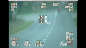 15-09-2016 18:16 Przez wioskę prawie 200 km/h. Policja zabrała mu motor