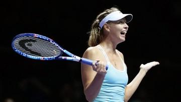 2017-10-13 Turniej WTA w Tiencinie: Szarapowa w półfinale