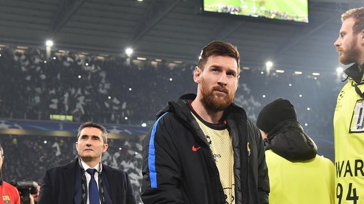 Dlaczego Messi znalazł się na ławce rezerwowych? Trener Barcelony wyjaśnił