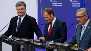 16-12-2015 21:16 Poroszenko: umowa UE-Ukraina wejdzie w życie mimo restrykcji Rosji