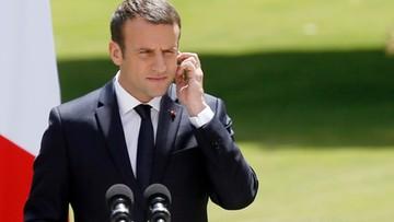 16-06-2017 18:31 Kolejny sondaż przewiduje miażdżące zwycięstwo partii Macrona w wyborach we Francji