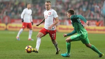 2016-11-14 Polska - Słowenia: Góralski zadebiutował w kadrze, więc tata dostanie koszulkę