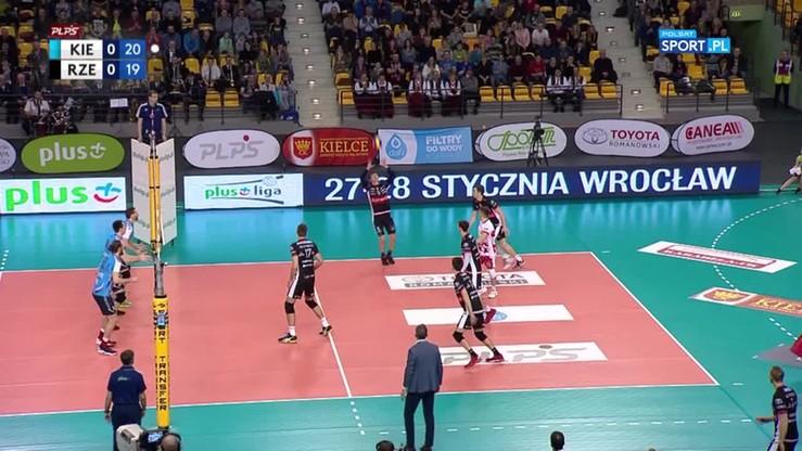 Dafi Społem Kielce - Asseco Resovia 3:1. Skrót meczu
