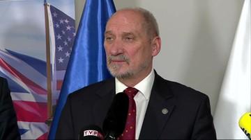 Macierewicz: jesteśmy gotowi gościć u siebie nowe centrum dowodzenia NATO