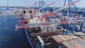 Jest decyzja rządu o budowie portu centralnego w Gdańsku - wiceszef Morskiego Portu Gdańsk w Polsat News