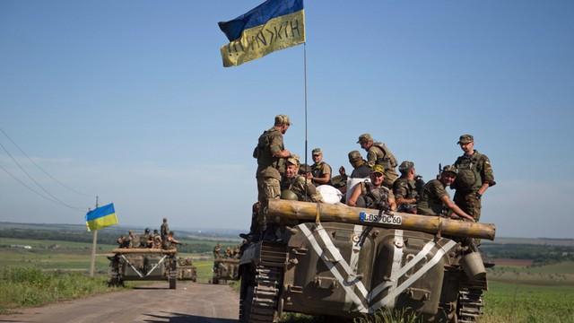 Znów gorąco w Donbasie - zginęło 7 ukraińskich żołnierzy