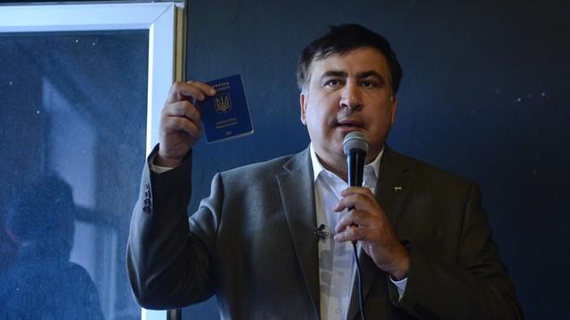 Władze Gruzji chcą od Polski informacji o miejscu pobytu Saakaszwilego