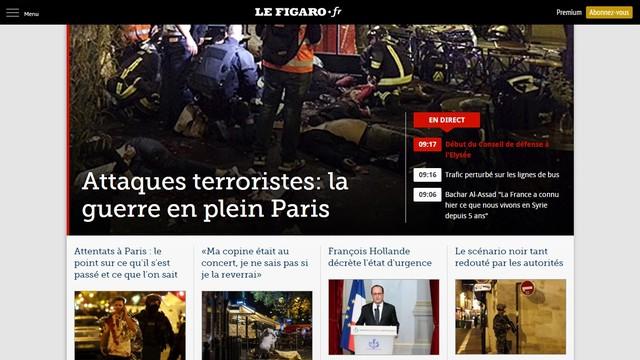 Francuska prasa: Wojna w sercu Paryża