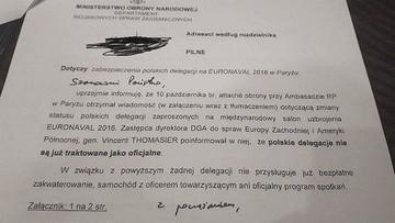 11-10-2016 19:54 Polskie delegacje na targach w Paryżu nie zostaną uznane za oficjalne. Po zerwaniu kontraktu na Caracale