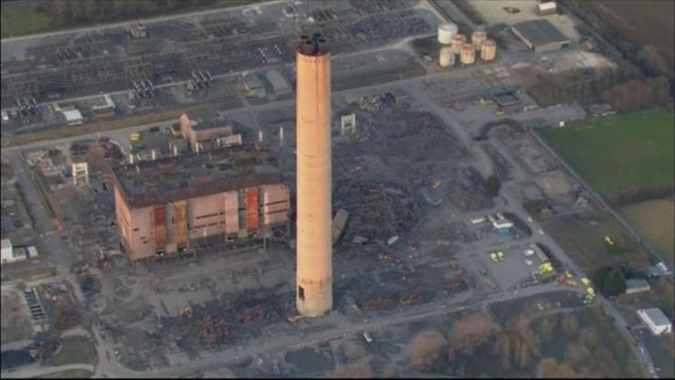 Wypadek w nieczynnej elektrowni w Wielkiej Brytanii. Są ofiary