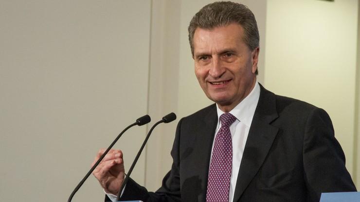 Komisarz Oettinger: o polską gospodarkę nie trzeba się martwić