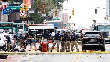 Media o zatrzymaniach w związku z wybuchem w Nowym Jorku. FBI zaprzecza