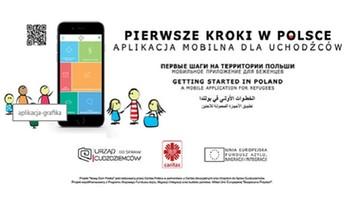12-01-2017 18:19 Pierwsza w Polsce aplikacja mobilna dla uchodźców